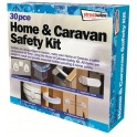 Home & Caravan safety Kit 30pce